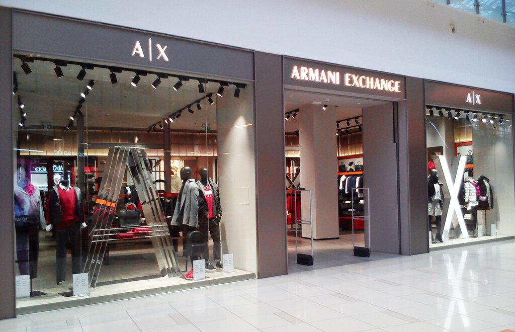 магазин одежды — Armani Exchange — Москва, фото №2