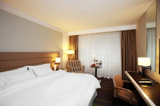 гостиница — Sheraton Palace Hotel — Москва, фото №3