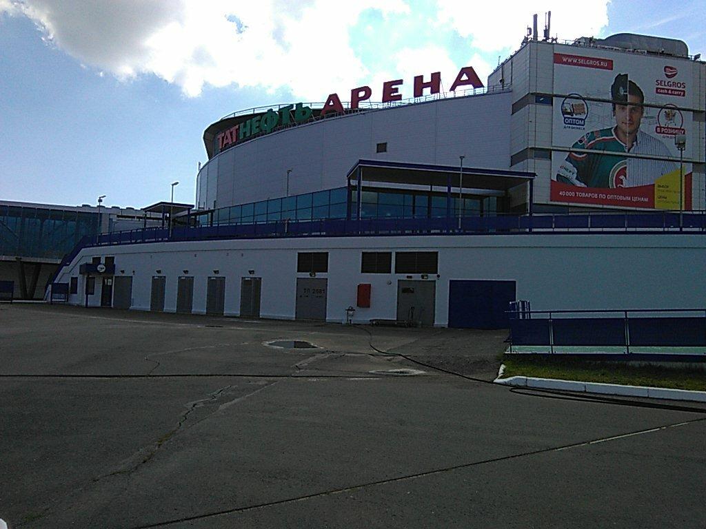 спортивный комплекс — Татнефть Арена — Казань, фото №2