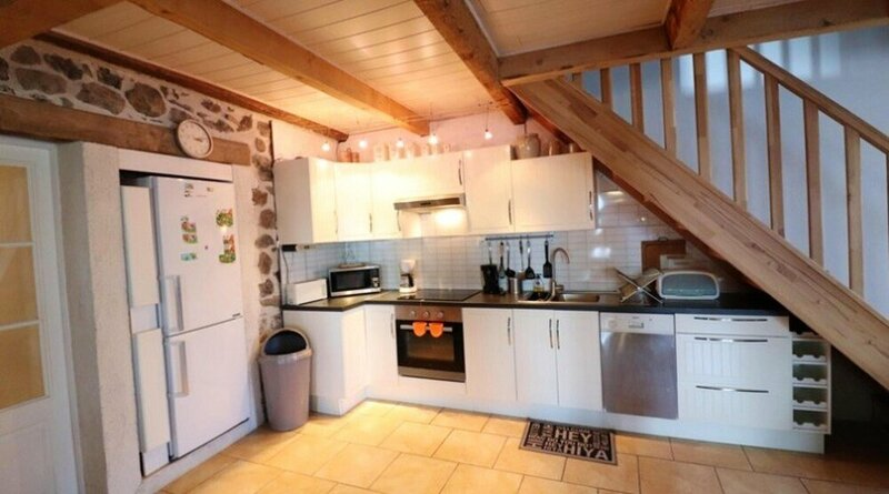 House With 3 Bedrooms in Saint-clément, With Wonderful Mountain View a