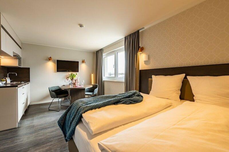 Апарт-Отель Maseven Munich Messe Dornach