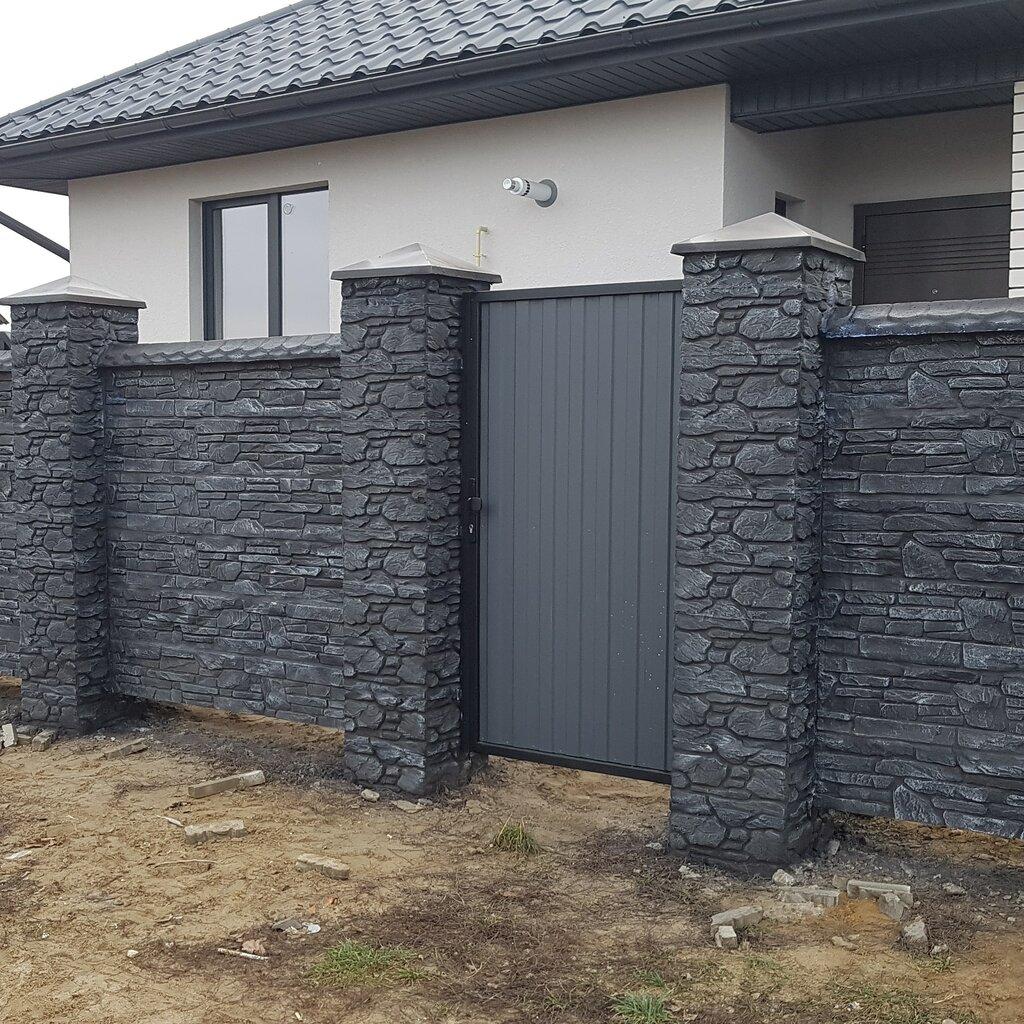 бетон, бетонные изделия — Бетонный дворик — Брест, фото №2