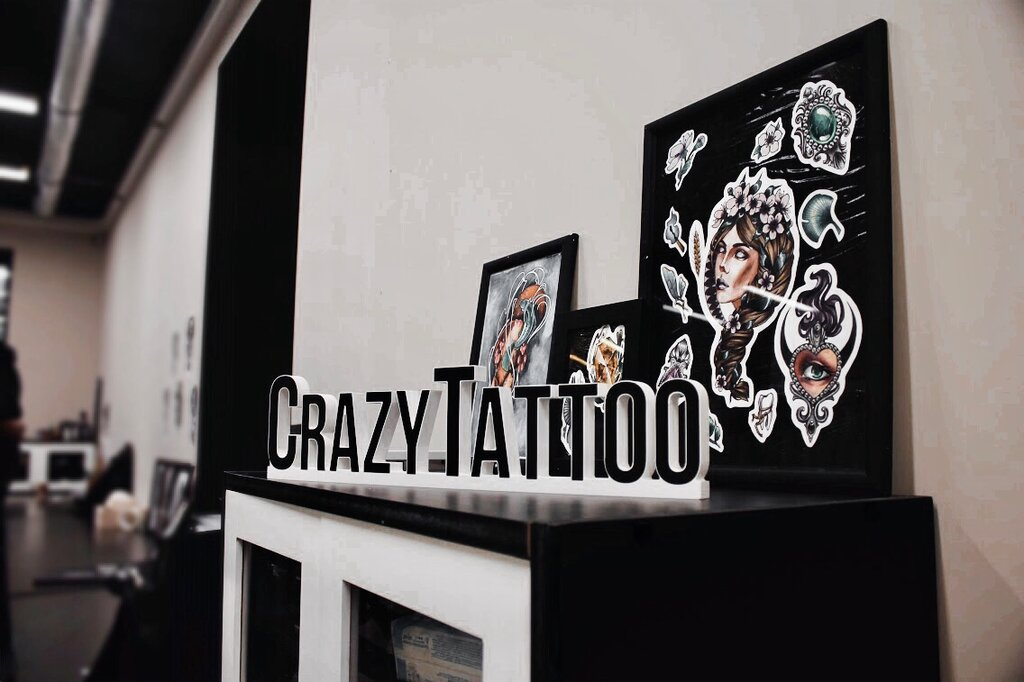 тату-салон — Crazy Tattoo — Москва, фото №1
