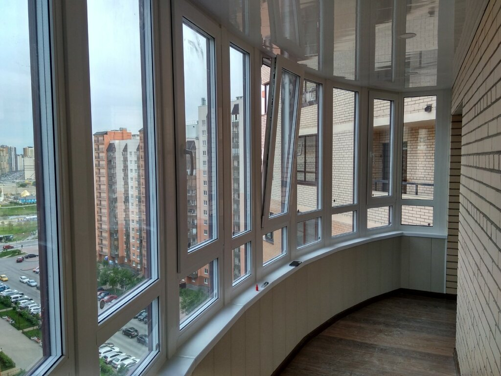 остекление балконов и лоджий — Светлый Город — Санкт-Петербург, фото №1