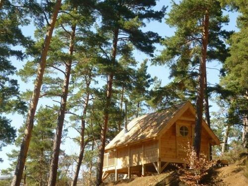 Cabane Lodge Domaine du Lac Chambon