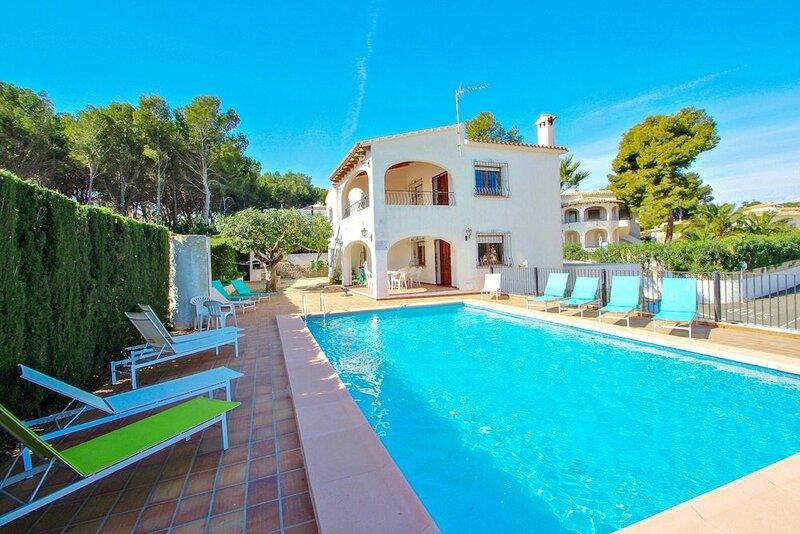 La Boniquessa-6 - sea view villa with private pool in Benissa