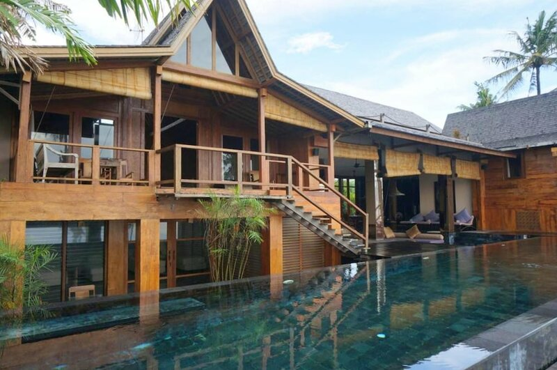 Villa With 4 Bedrooms in Kabupaten de Tabanan, With Wonderful sea View, Private Pool, Enclosed Garden