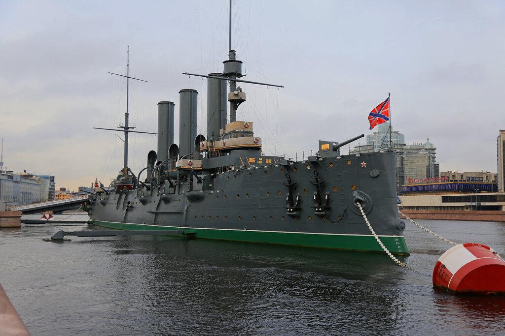 museum — Cruiser Aurora — Saint Petersburg, photo 1