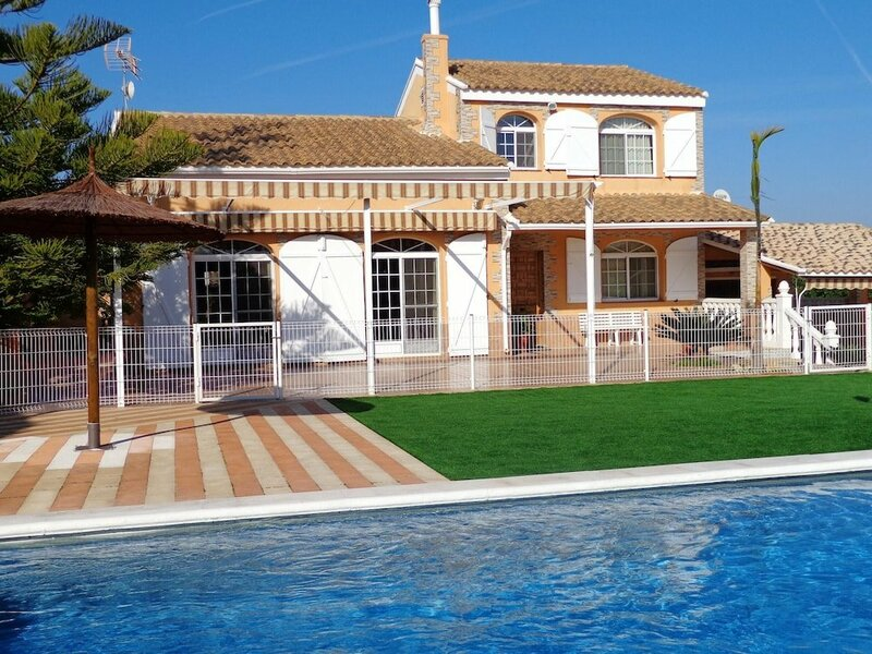 Villa With 4 Bedrooms in BenifayA3, With Wonderful sea View, Private Pool, Enclosed Garden - 35 km From the Beach