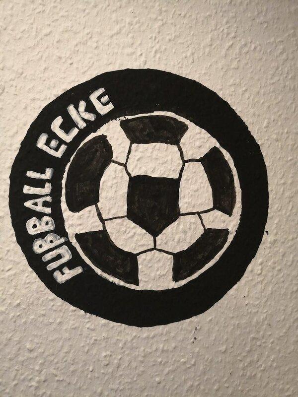 Hostel Fußball Ecke