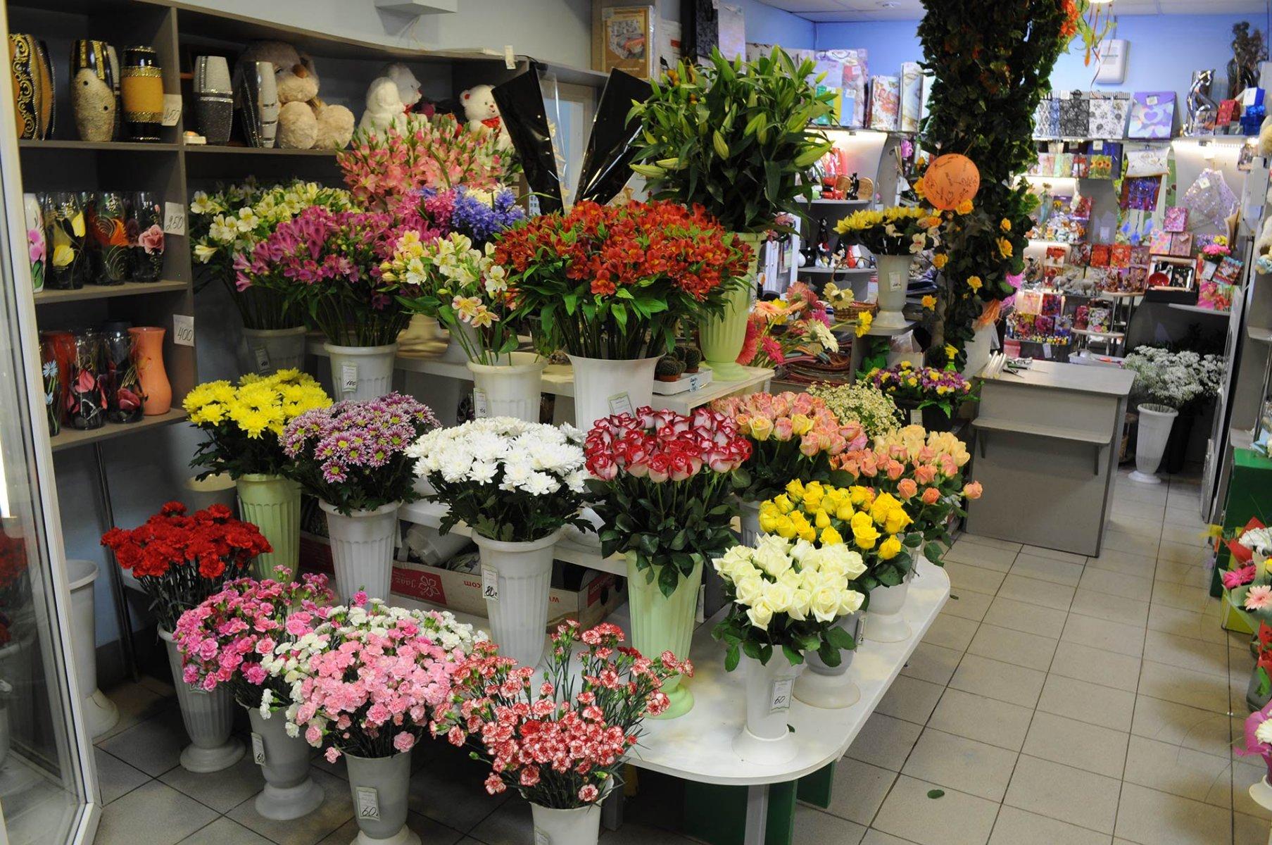 Интернет магазин цветов учетом