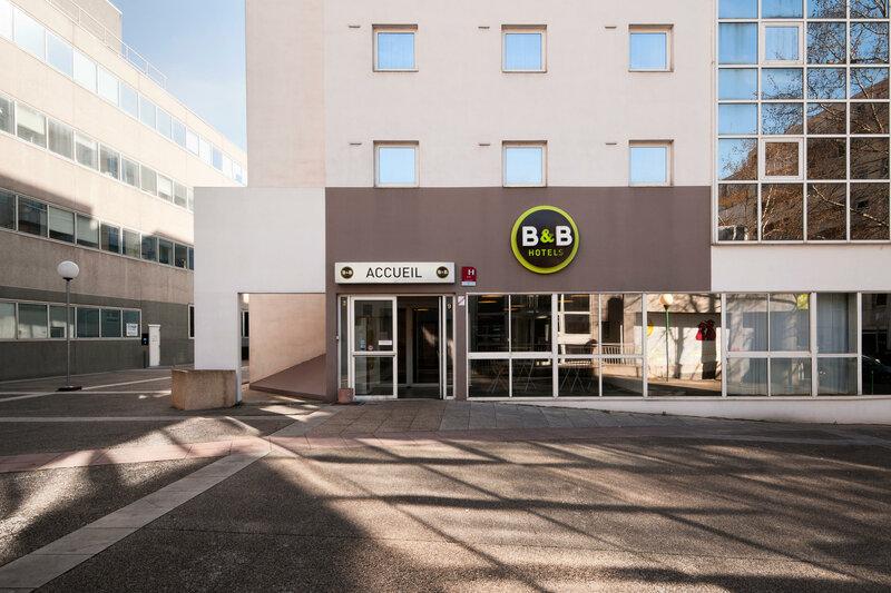 B&b Hotel Lyon Centre Monplaisir