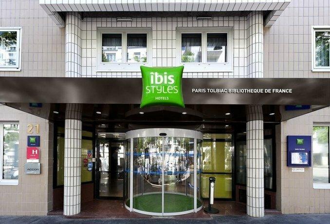 Ibis Styles Paris Tolbiac Bibliotheque