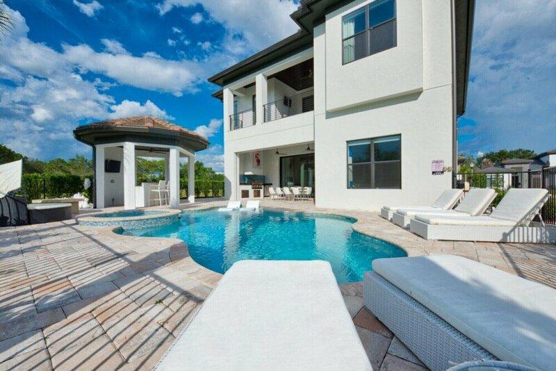 Beautiful Villa With Private Pool, Close to Disney, Orlando Villa 2949