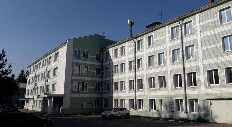Общежитие Новомосковского института повышения квалификации