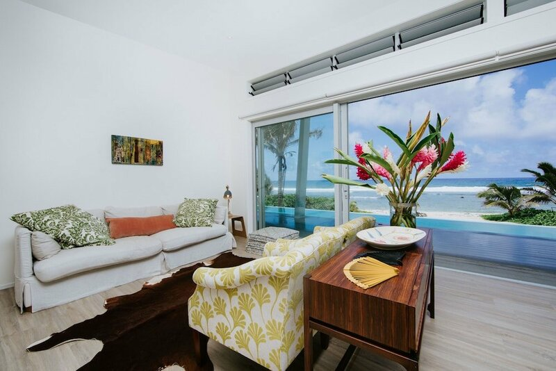 Coast Cook Islands Beachfront Villas