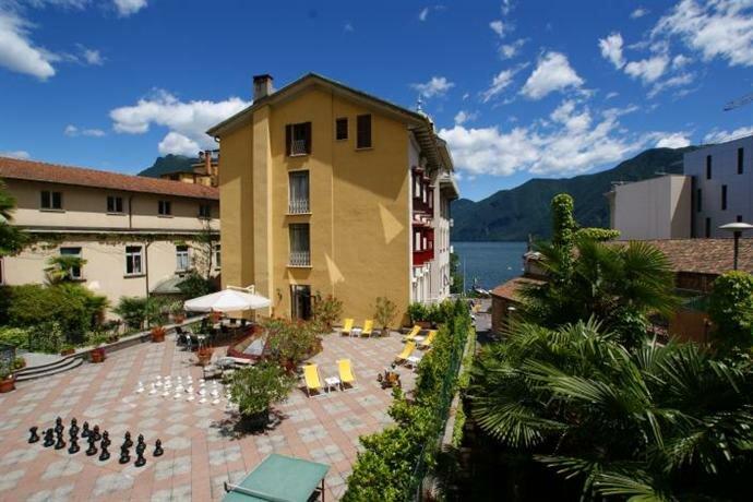 International au Lac Historic Lakeside Hotel - Lugano