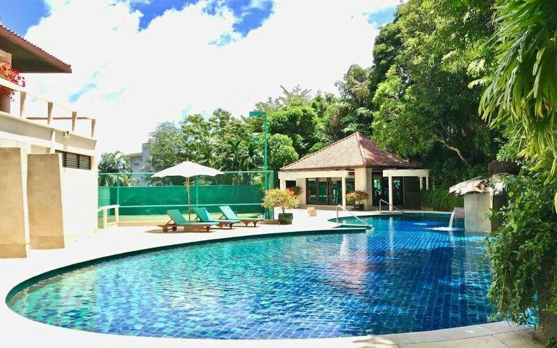 Stunning private pool sea view villa in Kata