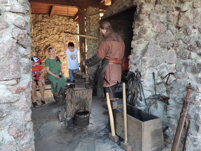 Средневековый город Сваргас