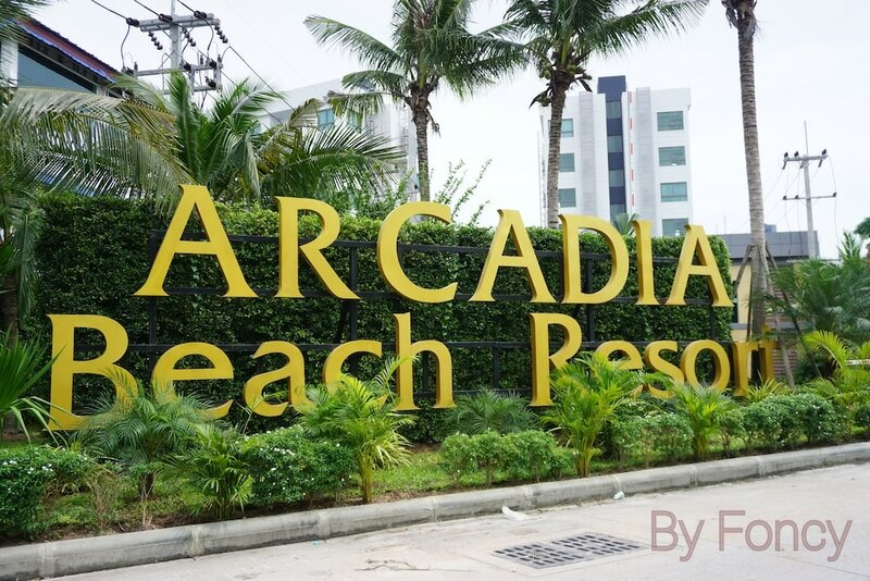 Arcadia Beach Resort Pool View