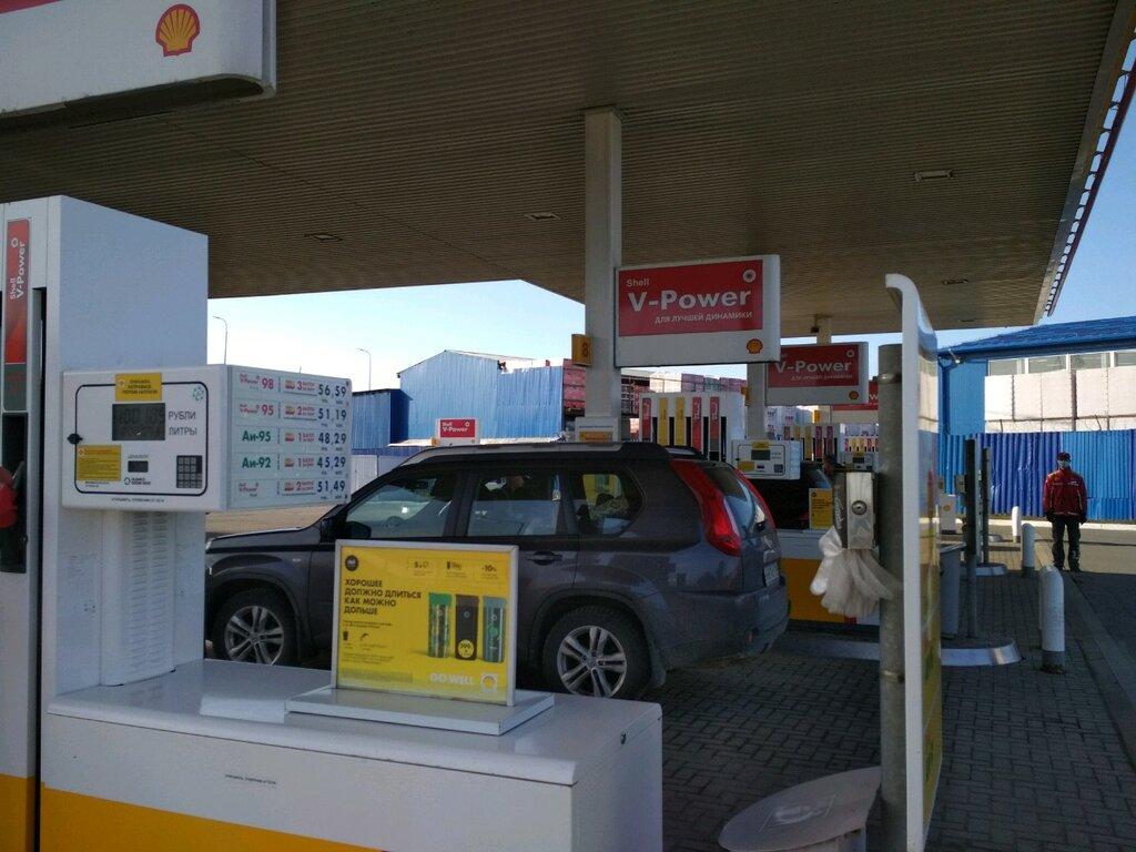 АЗС — Shell — Санкт-Петербург и Ленинградская область, фото №1