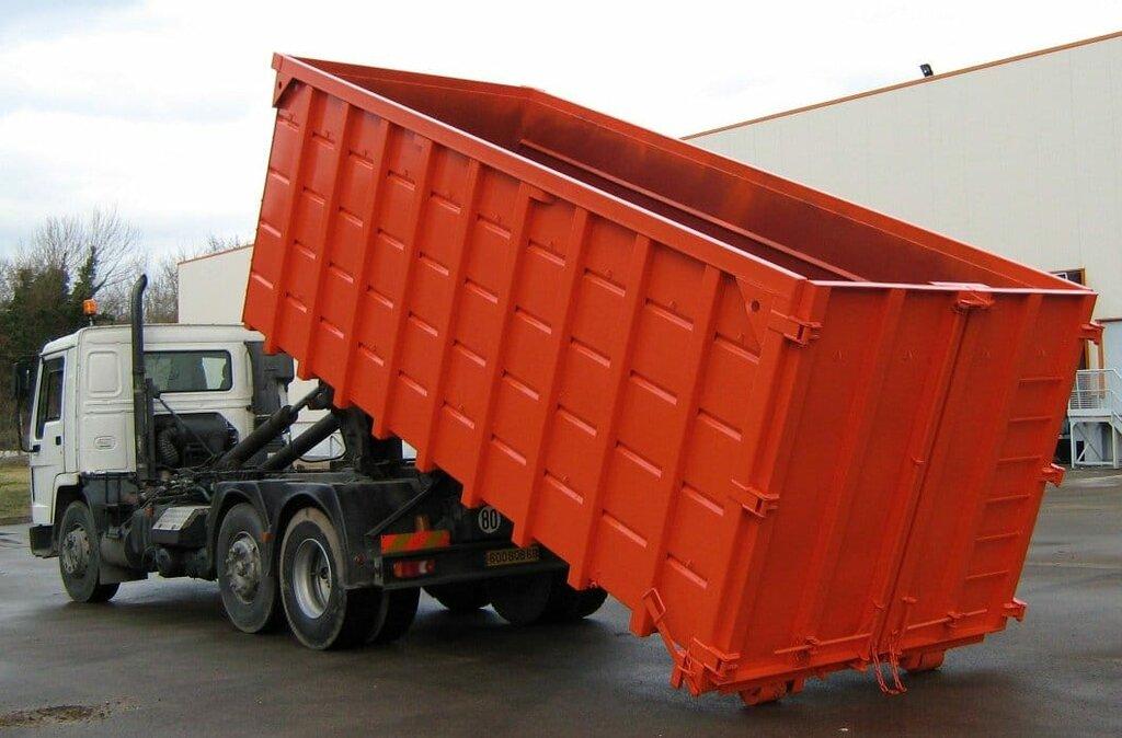 вывоз мусора и отходов — Мак-Транс - вывоз мусора — Москва, фото №1