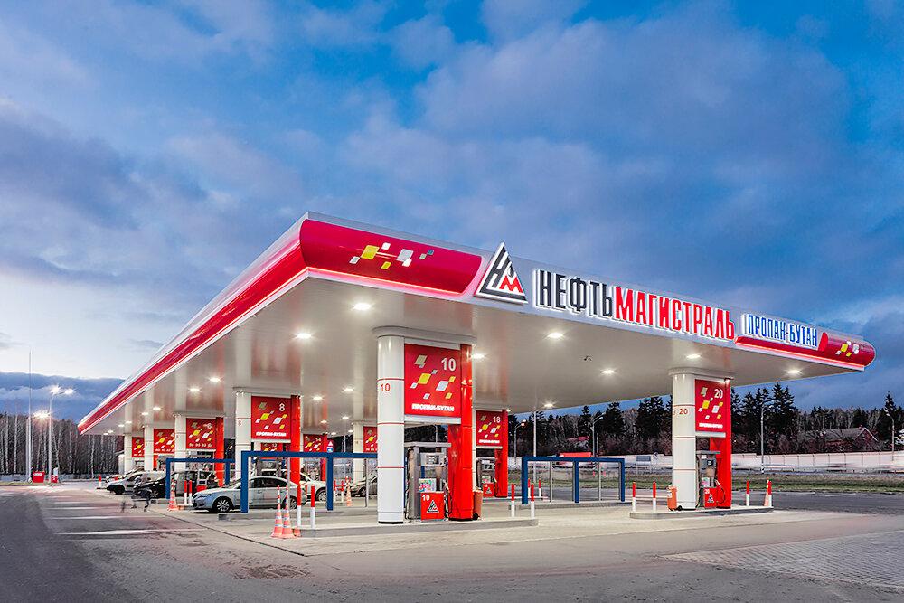 АЗС — Нефтьмагистраль — Москва, фото №1