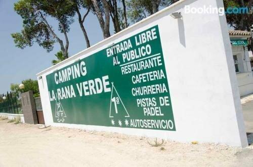 Apartamentos-Camping La Rana Verde