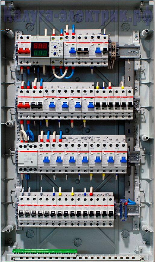 электромонтажные работы — Электромонтажные работы — Калуга, фото №1