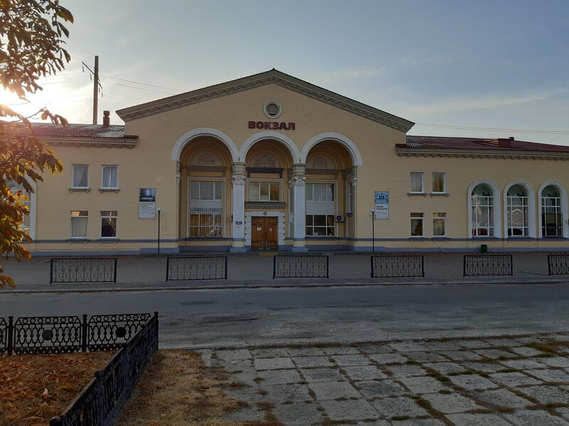 Железнодорожный вокзал Валуйки, комната отдыха