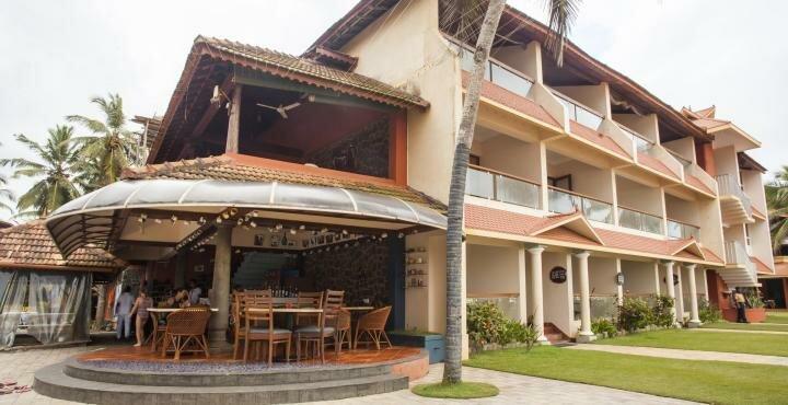 Санаторий Uday Samudra Leisure Beach Hotel & SPA