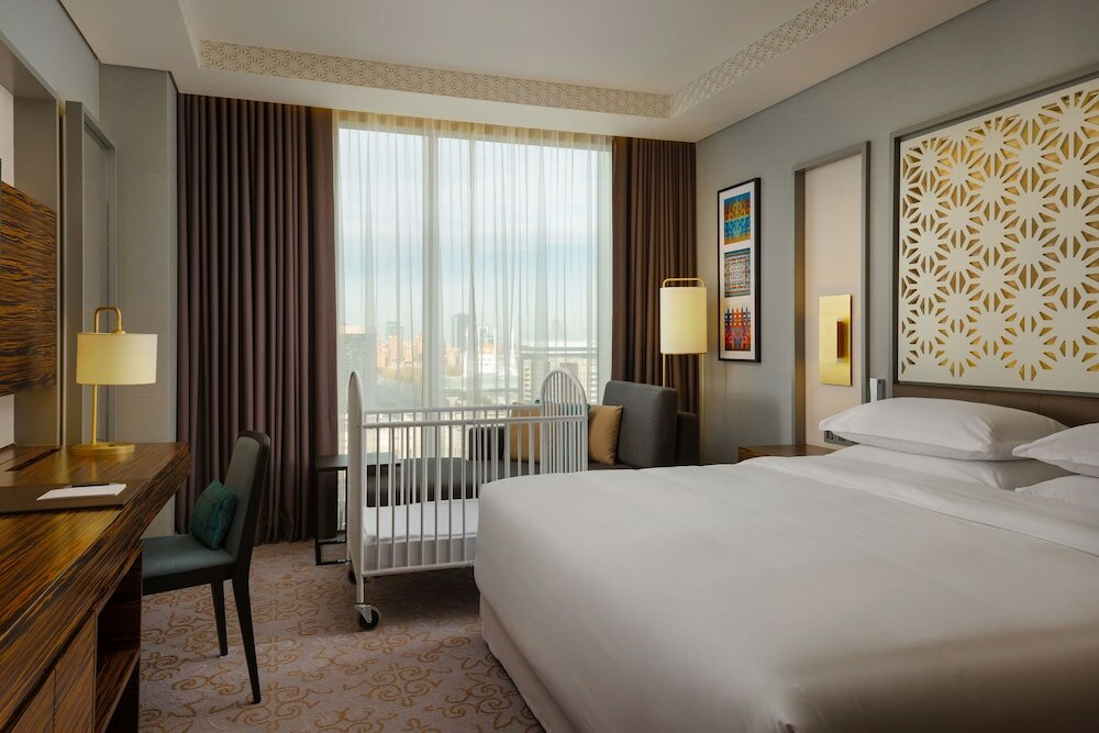 гостиница — Sheraton Nur-Sultan Hotel — Нур-Султан, фото №1