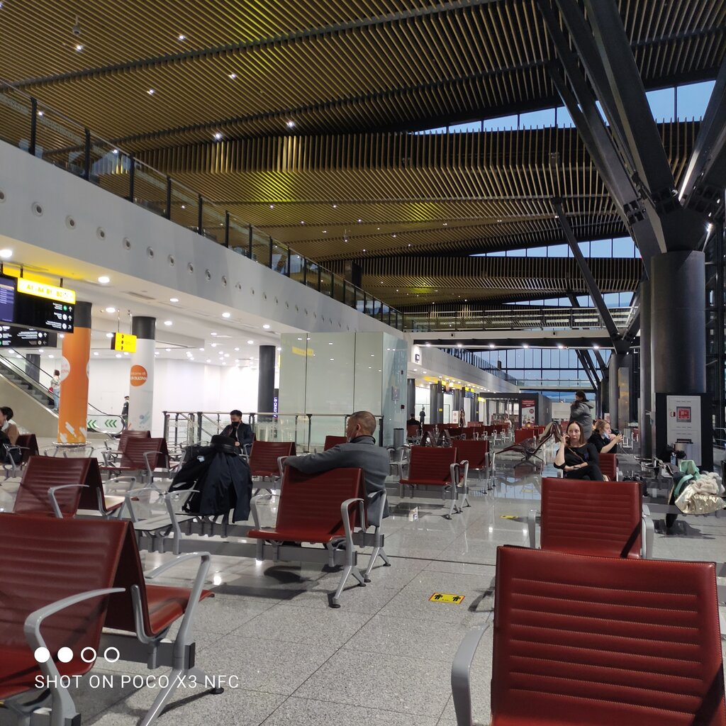 аэропорт — Международный аэропорт Нурсултан Назарбаев — Нур‑Султан, фото №2