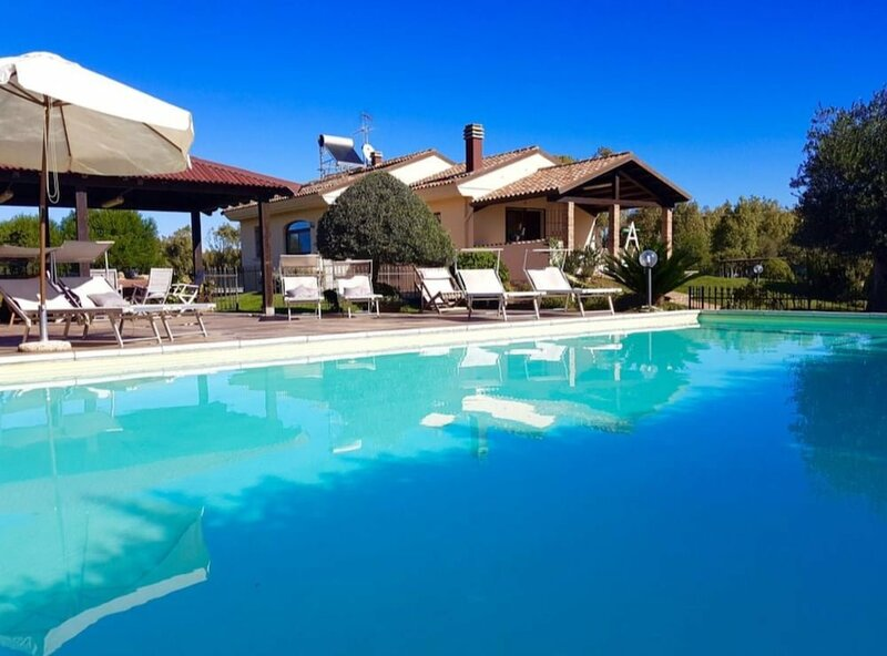 Alghero, Villa Mariposa With Swimming Pool for 1214 People