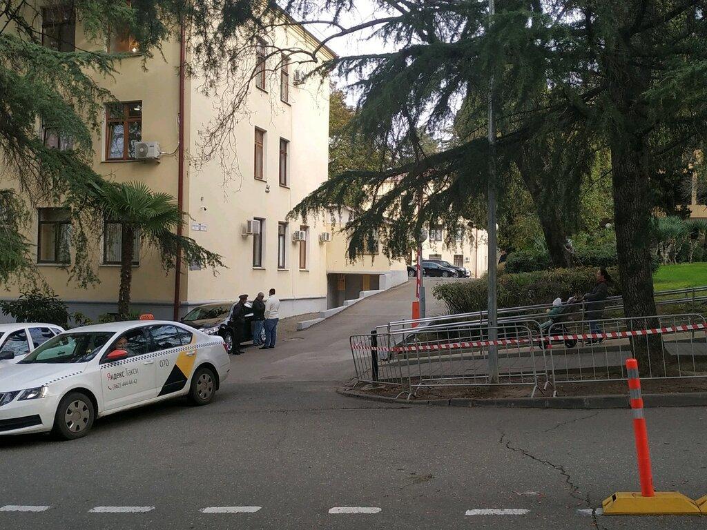 автомобильная парковка — Парковка Администрации города Сочи — Сочи, фото №1
