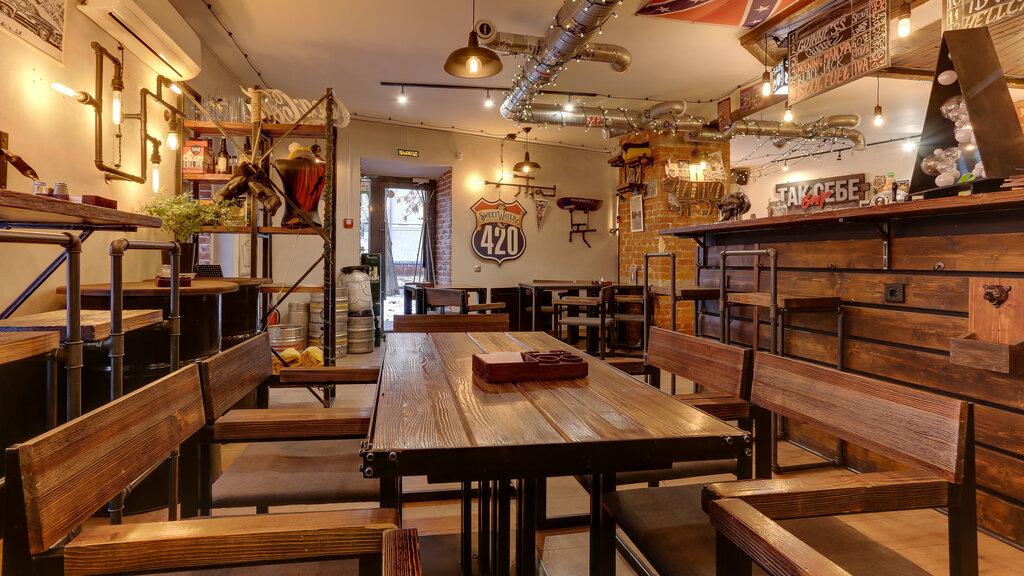 бар, паб — Стейк хаус Steak and Beer corner — Москва, фото №1