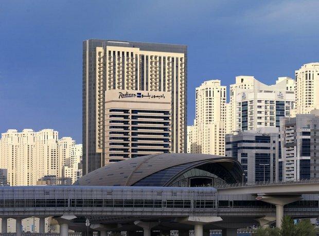 Radisson Blu Residence - Дубай Марина