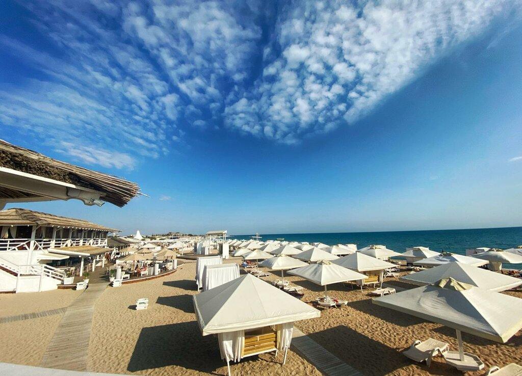 Песчаные пляжи Крыма. Пляж Лазурный берег