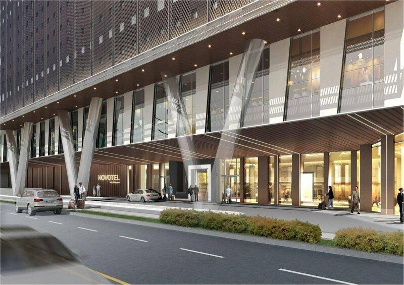 Novotel Suites Ambassador Seoul Yongsan - Seoul Dragon City
