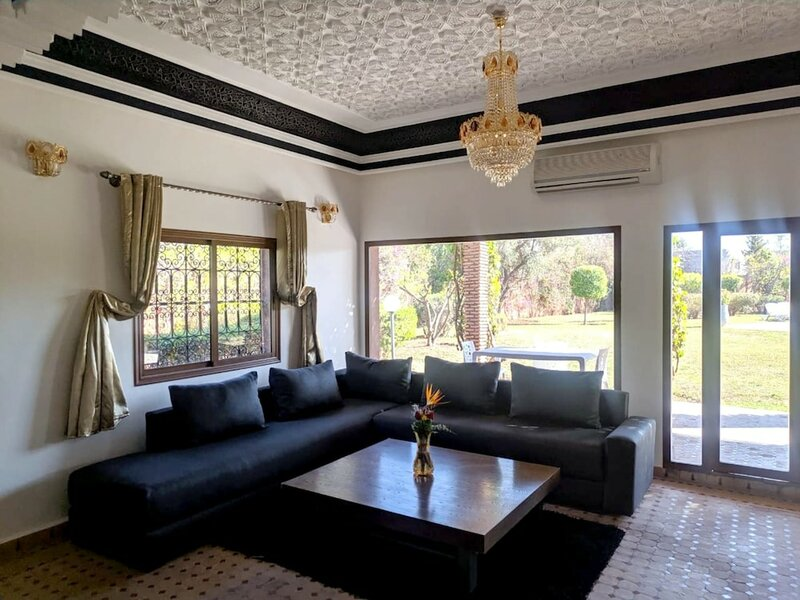 Villa With 5 Bedrooms in Marrakech, With Wonderful Mountain View, Private Pool, Enclosed Garden