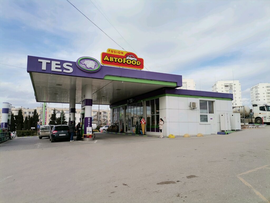 АЗС — TES — Севастополь, фото №1