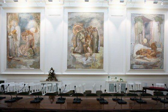 выставочный центр — Российская академия художеств — Москва, фото №8