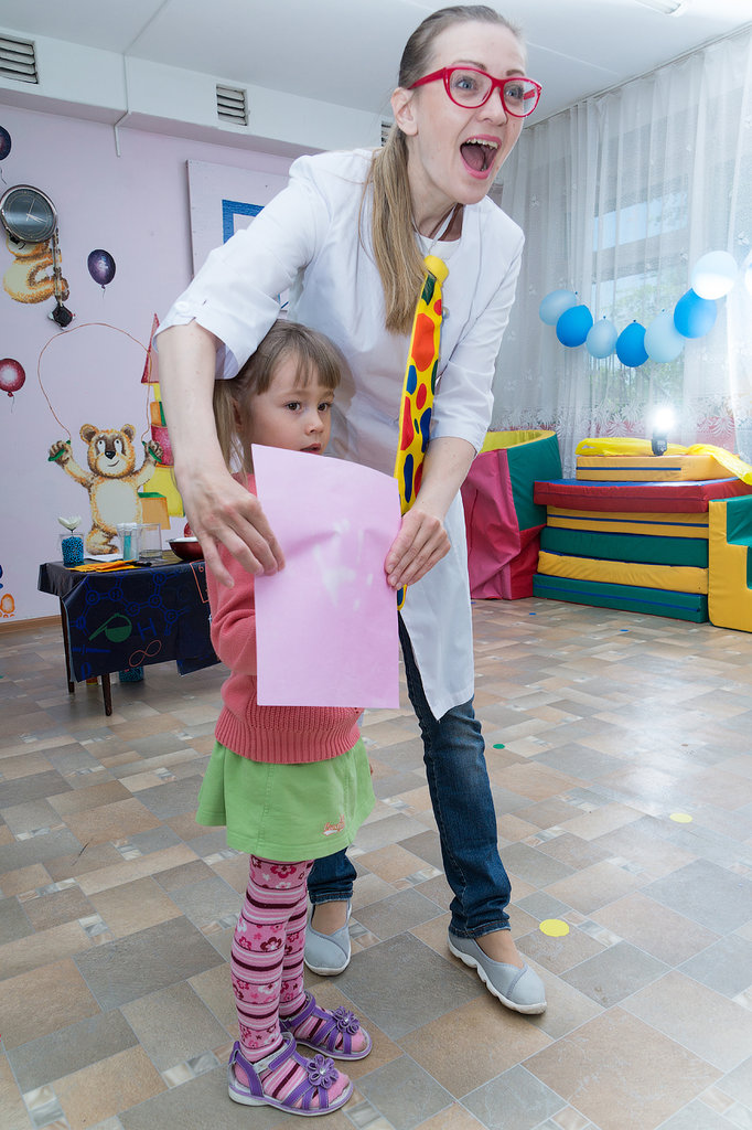 организация и проведение детских праздников — Ателье праздника профессора Фанни, ИП — Новосибирск, фото №6