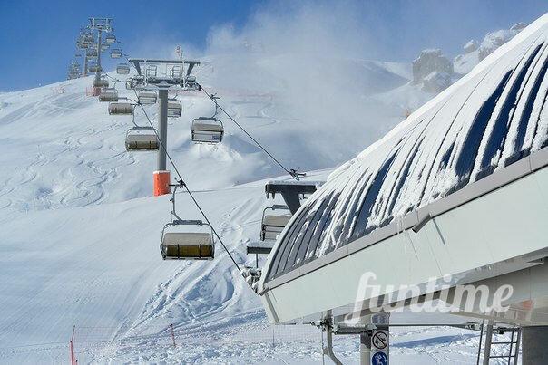 горнолыжный комплекс — Горнолыжный курорт Шахдаг — Кусарский район, фото №2