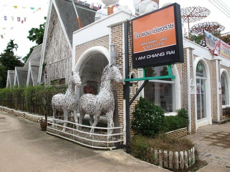 I Am Chiangrai White Brick Villa