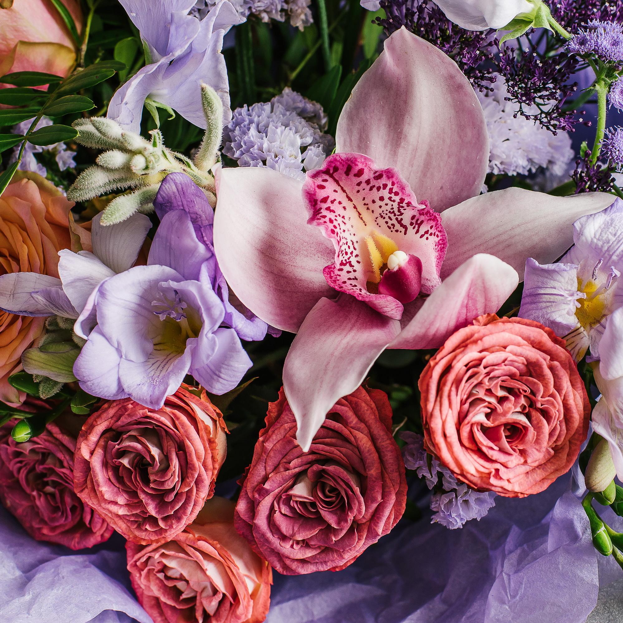 Доставка цветов город клин