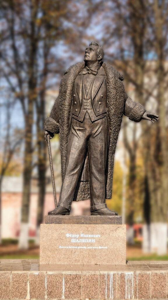 раз снимался фото памятника шаляпину в г кирове культуры туризма