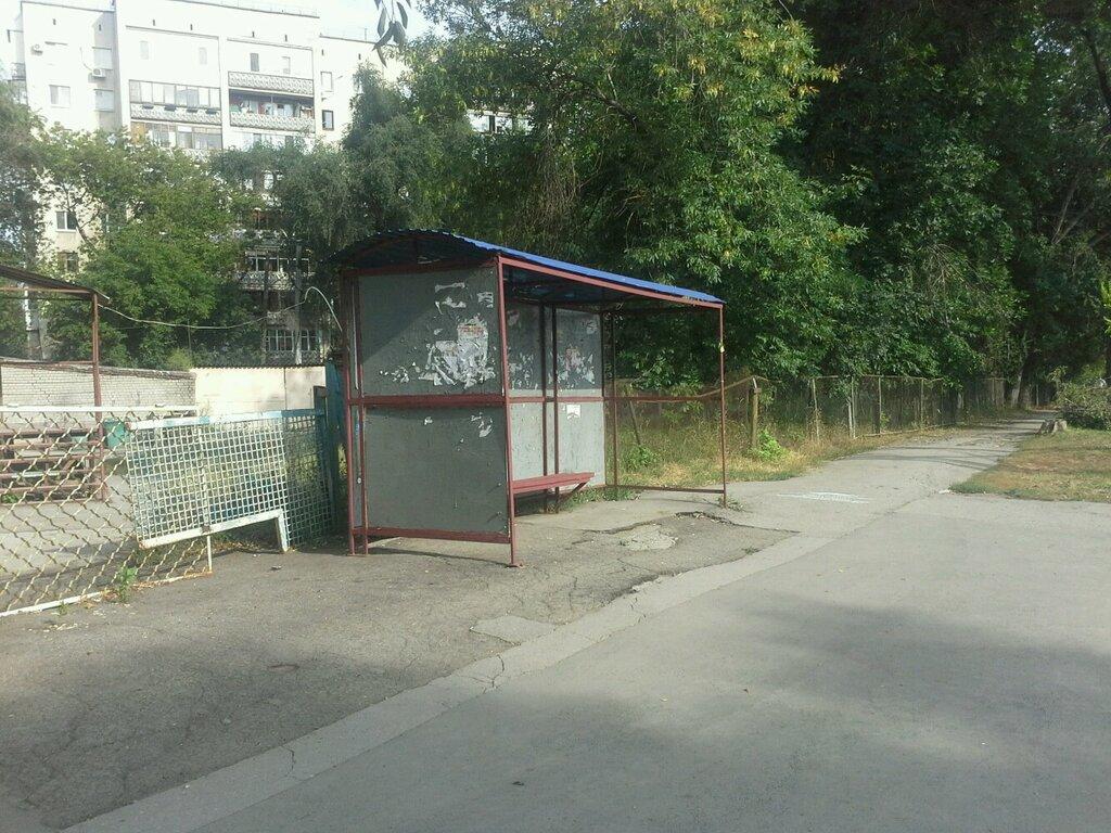 остановка общественного транспорта — Улица Мориса Тореза — Самара, фото №1