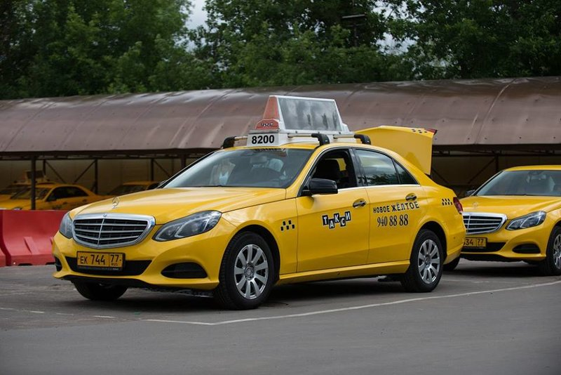 Новое желтое такси - фотография №2