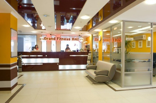 fitness club — Grand Fitness Hall — Omsk, photo 1